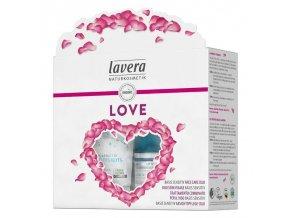 lavera darkovy set plny lasky basis sensitive