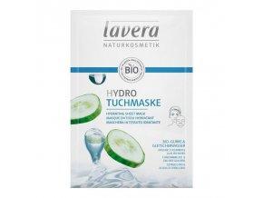 lavera hydratacni textilni maska 21ml