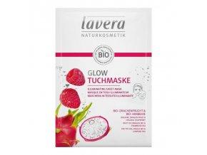 lavera rozjasnujici textilni maska 21ml