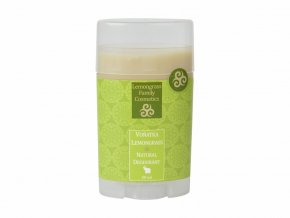healing nature deodorant lemongrass 50ml