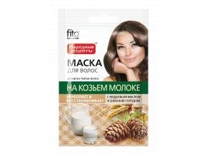 fitokosmetik maska na vlasy s kozim mlekem