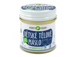 purity vision detske telove maslo 120ml