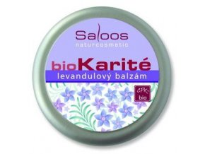 Saloos BIO karité Levandulový balzám 250ml