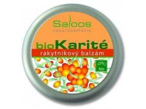 Saloos BIO karité Rakytníkový balzám 250ml