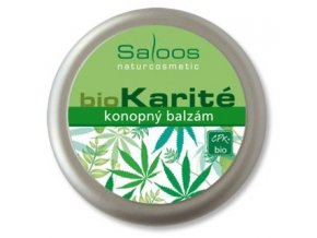 Saloos BIO karité Konopný balzám 250ml