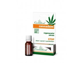 Cannaderm Cannadent dentální sérum 5ml