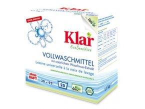Klar Prací prášek s extraktem z mýdlových ořechů 1,1kg