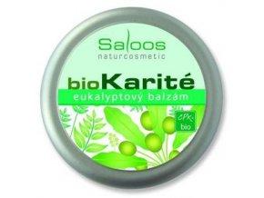 Saloos BIO karité Eukalyptový balzám 19ml