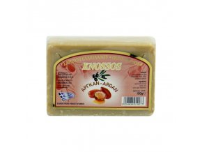 Knossos Olivové mýdlo a argan 100g
