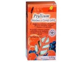 Milota Psyllium vláknina malina a černý rybíz 100g