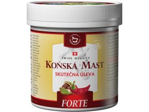 Herbamedicus Koňská mast forte hřejivá 250ml
