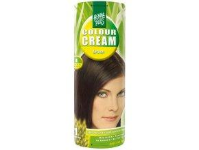 HennaPlus přírodní barva na vlasy krémová hnědá 4 60ml