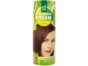 HennaPlus přírodní barva na vlasy krémová kaštanová 4.56 60ml