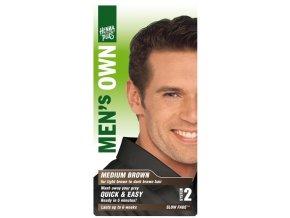 HennaPlus přírodní barva na vlasy pro muže hnědá 80ml