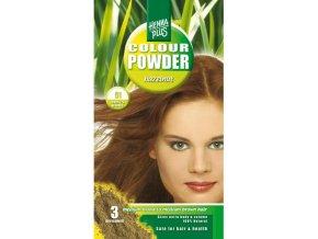 HennaPlus přírodní barva na vlasy prášková oříšková 100g