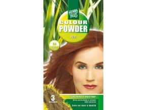 HennaPlus přírodní barva na vlasy prášková červená 54 100g