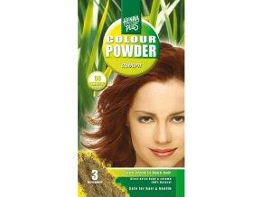 HennaPlus přírodní barva na vlasy prášková kaštanová 56 100g