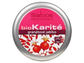 Saloos BIO karité balzám Granátové jablko 19ml