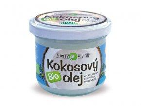 Purity Vision kokosový olej panenský BIO 100ml