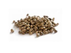 Hemp Production konopné semínko neloupané vážené 1kg