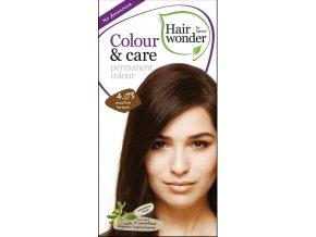 Hairwonder přírodní dlouhotrvající barva BIO MOCCA HNĚDÁ 4.03