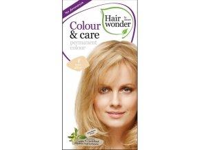 Hairwonder přírodní dlouhotrvající barva BIO SVĚTLÁ BLOND 8