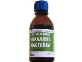 Ruská tradiční bylinná péče Eukalypt tinktura 25ml