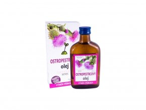 ostropestrecovy olej 100 200ml rich ve skle