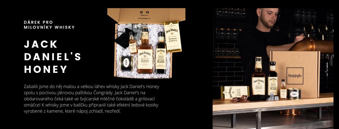 Krabička pro wiskaře Jack Daniel's Honey