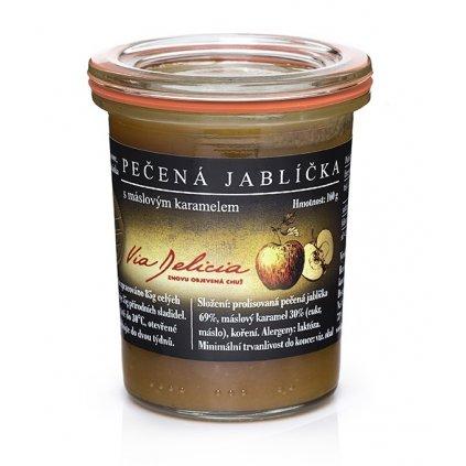 Pečená jablíčka s máslovým karamelem 160 g