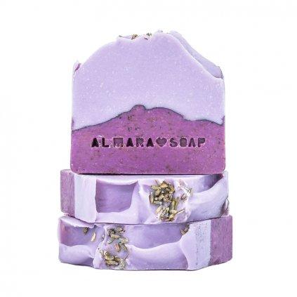 Přírodní ručně vyrobené mýdlo Lavender Fields