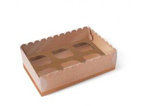 Krabička na 6 muffinků