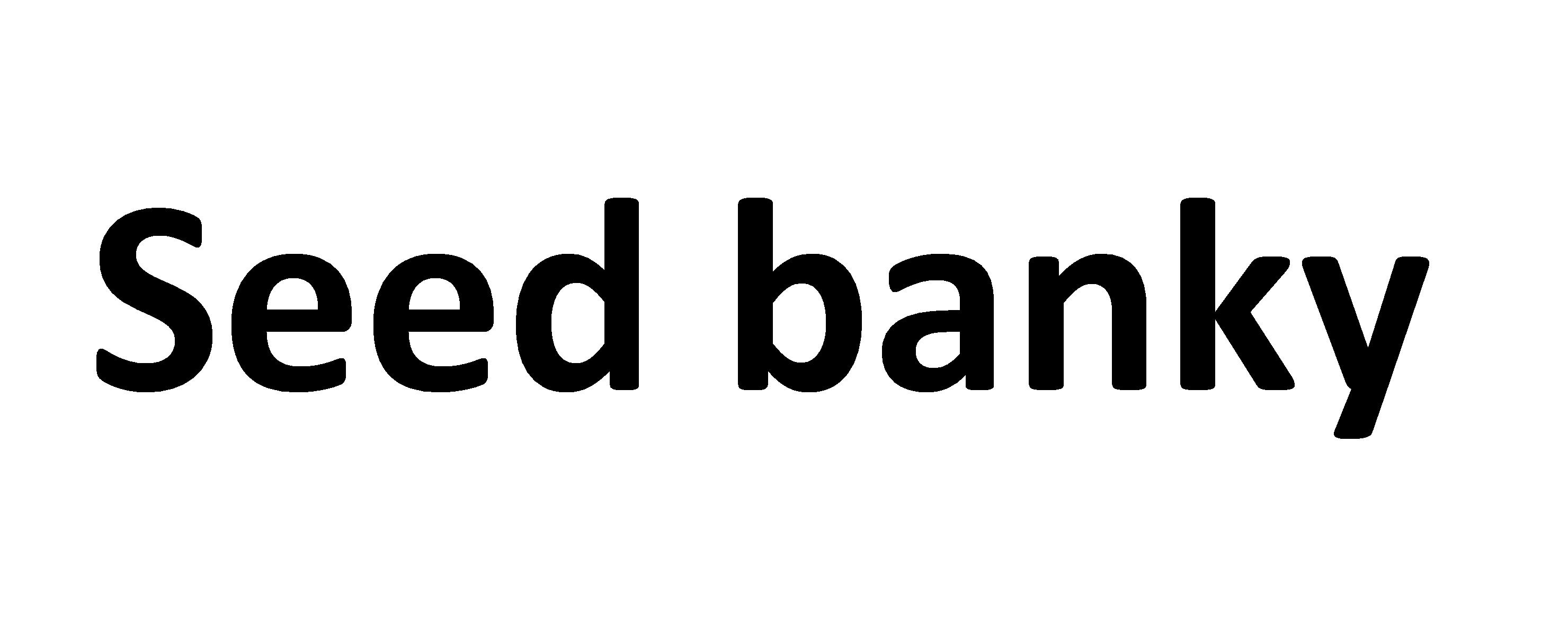 Seedbanky