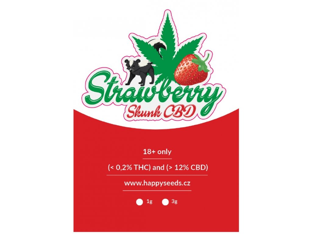strawberry skunk obal