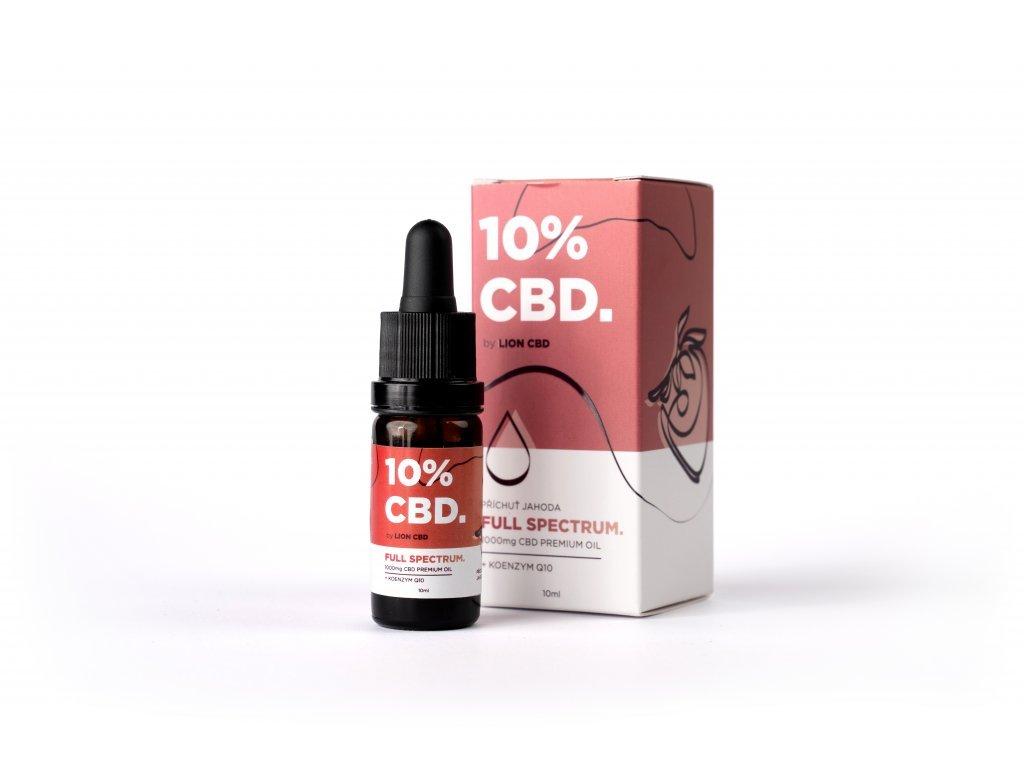 10% CBD Jahoda