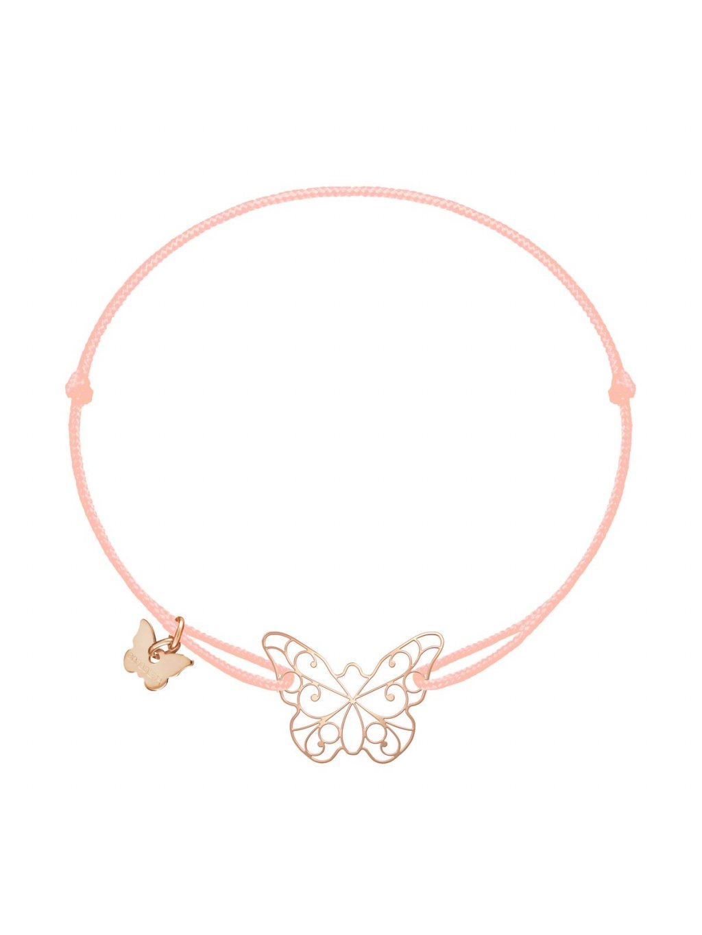 NÁRAMOK LACE BUTTERFLY ROSE GOLD