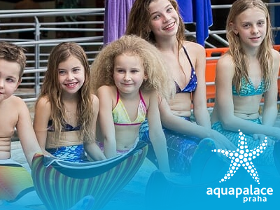 Mermaiding Aquapalace Praha – každá sobota 12:00 – 16:00
