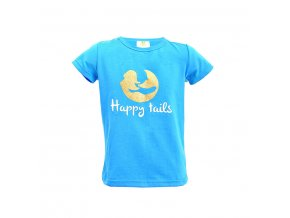 tricko kids happytails blue web