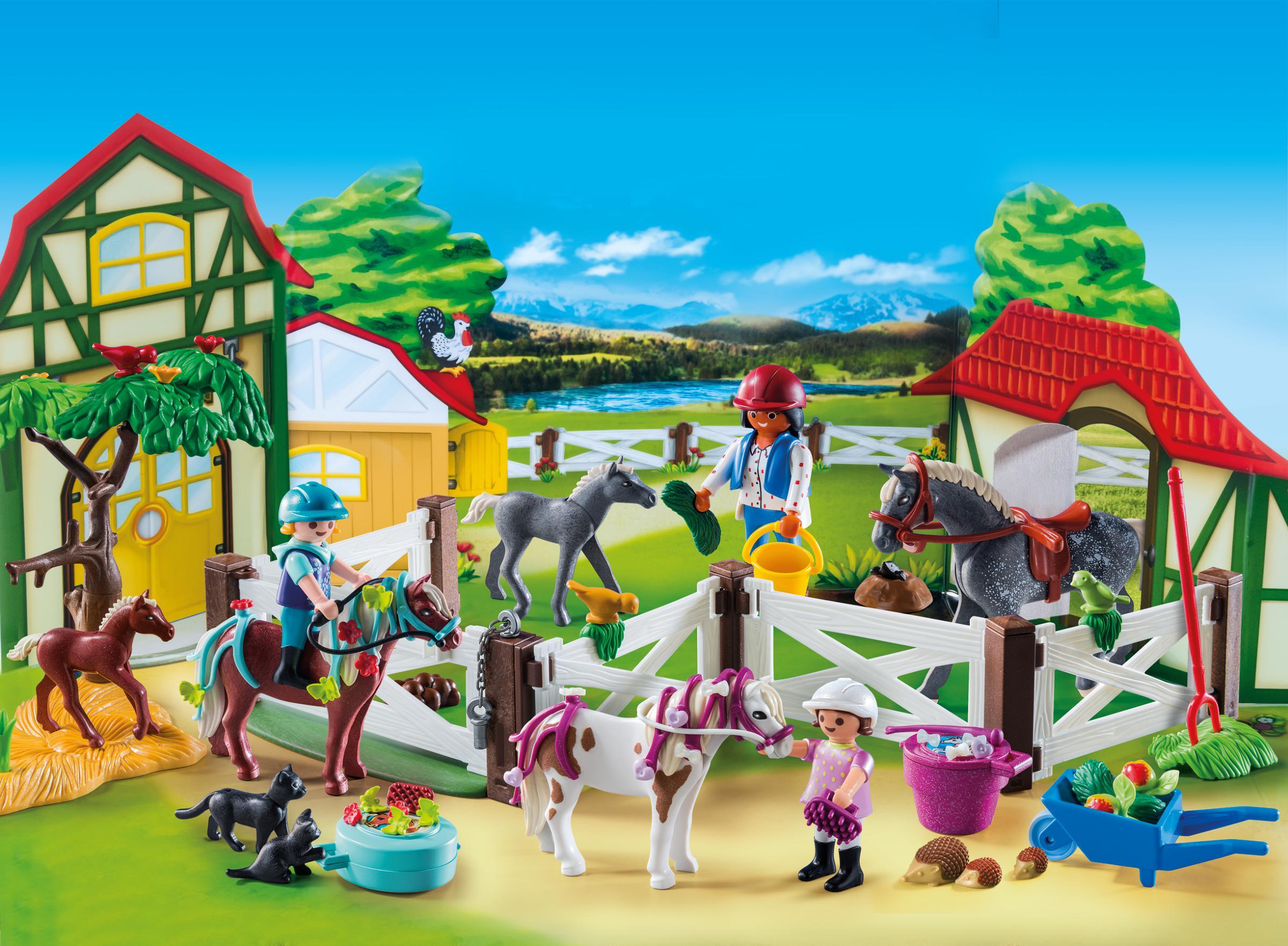 Adventní kalendář koňská farma