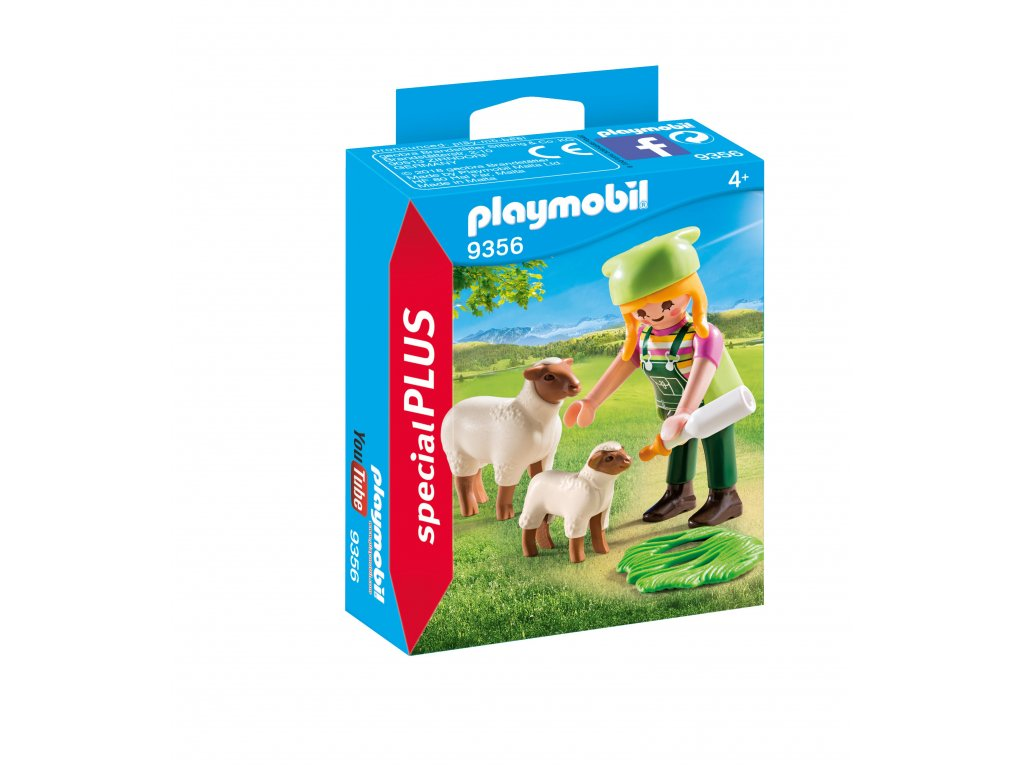 Playmobil Farmářka s ovečkami