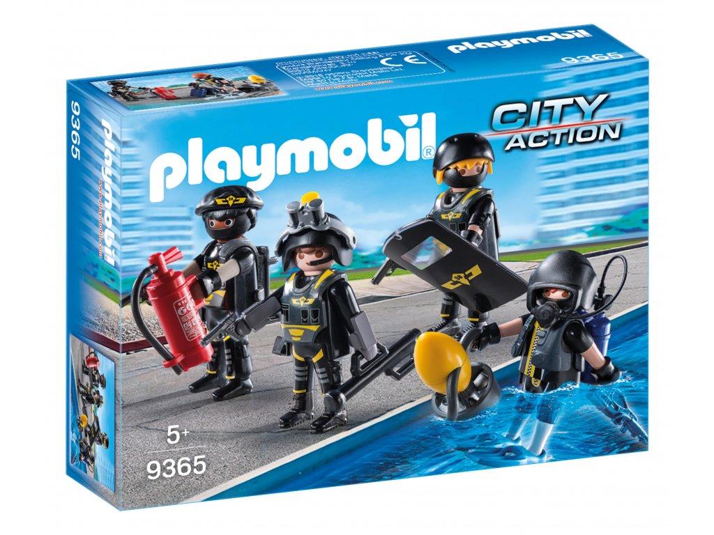 Playmobil speciální jednotka SEK