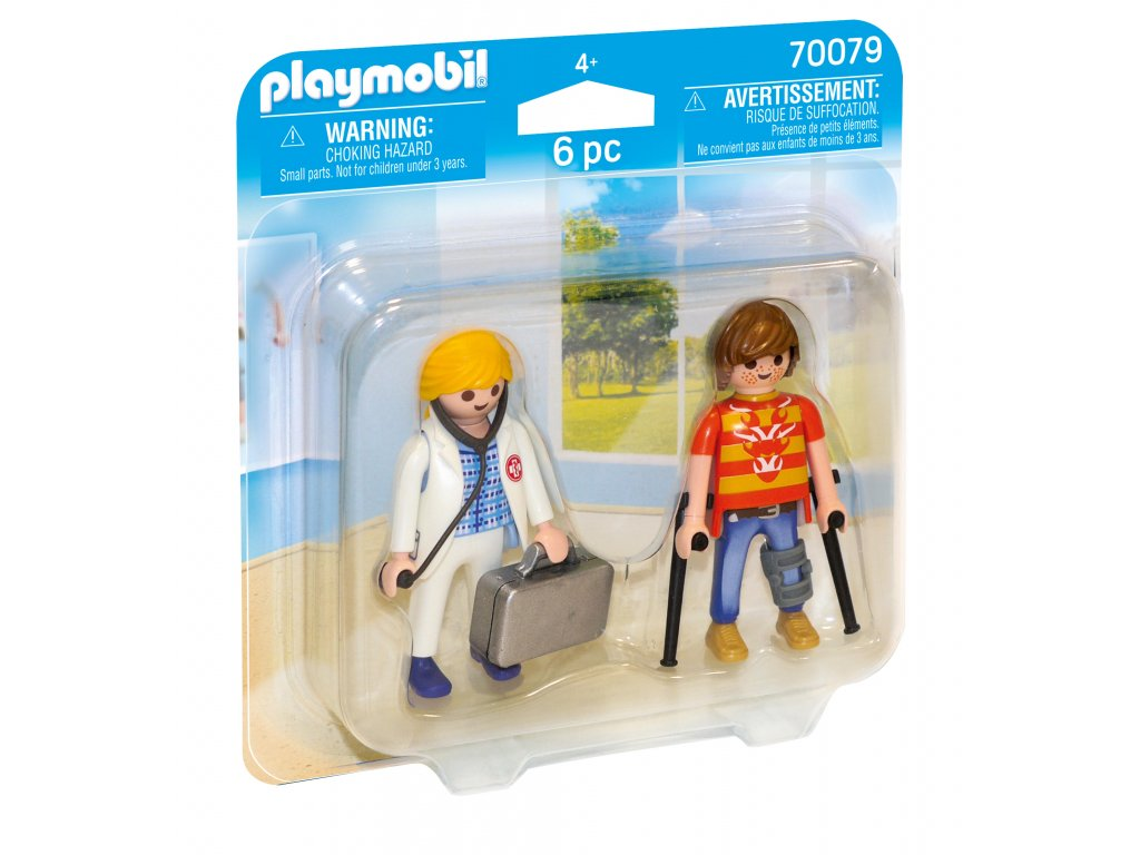 Playmobil Lékařka a pacient