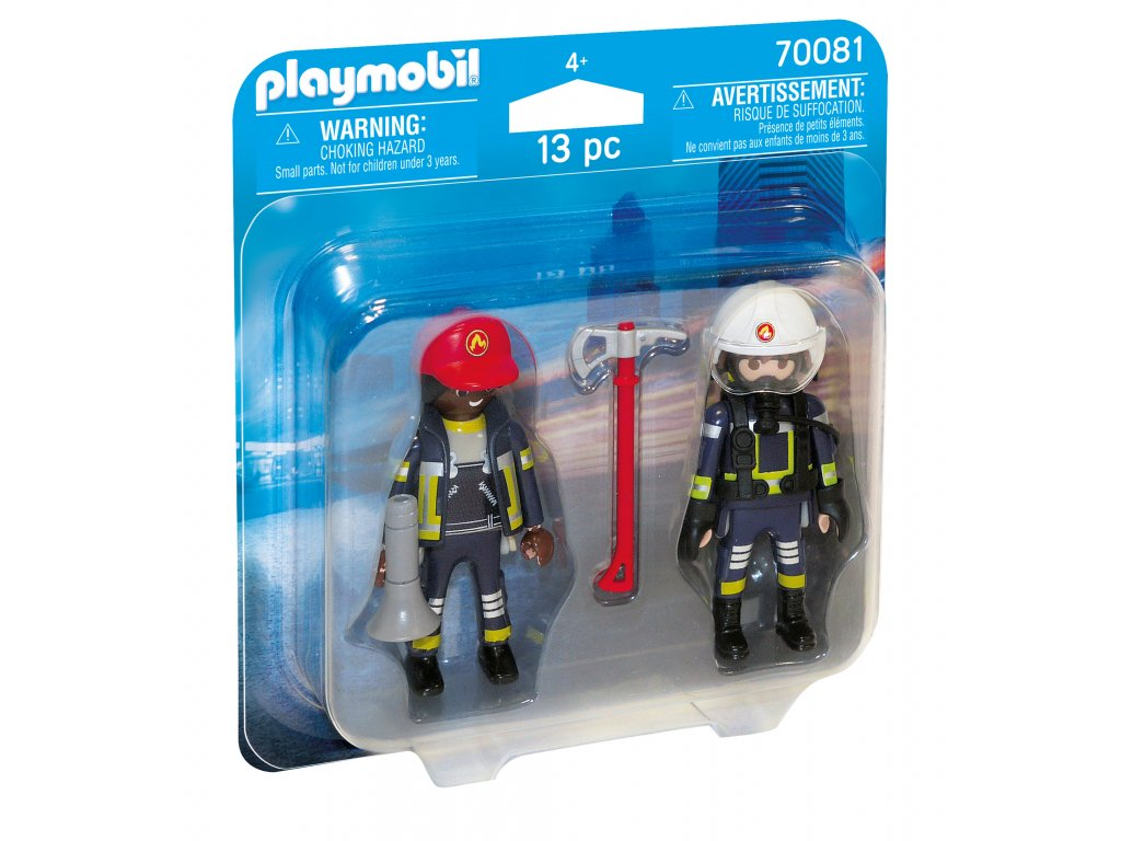 Playmobil Hasiči záchranáři