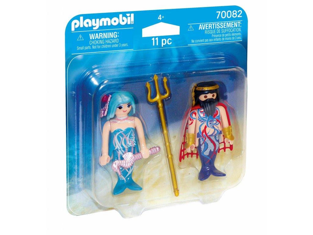 Playmobil Král moří a mořská víla