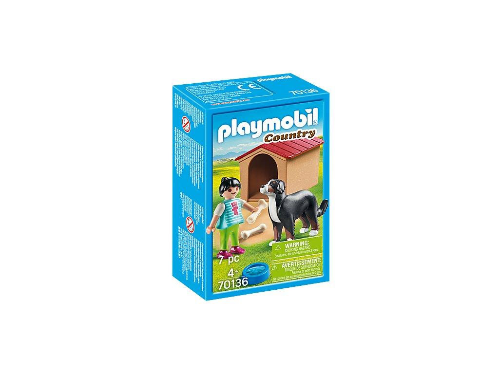 Playmobil Pes s boudou