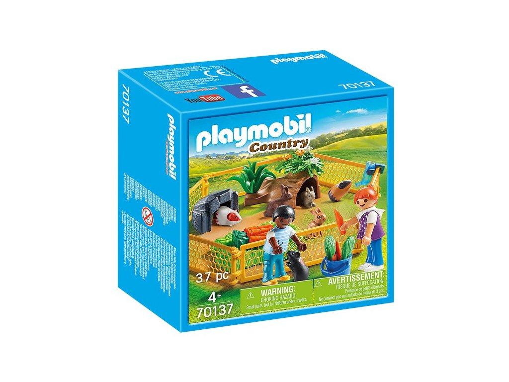 Playmobil Ohrada pro malá zvířátka