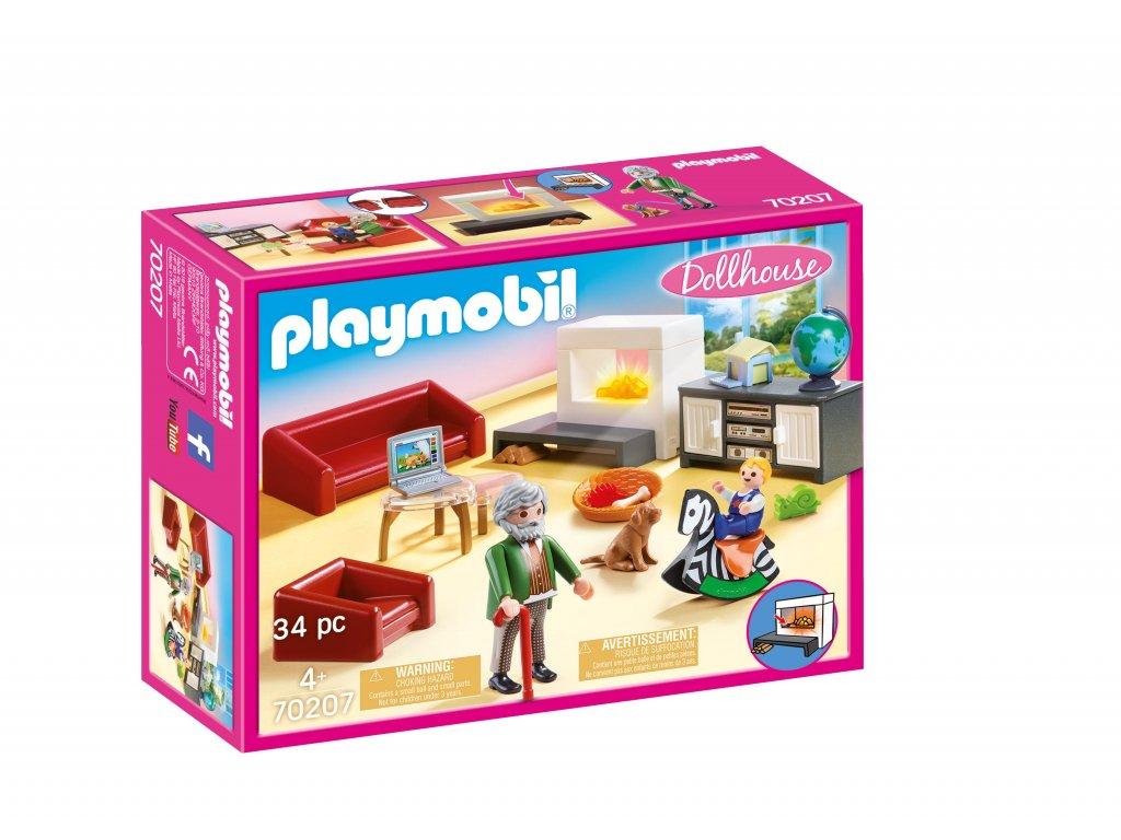 Playmobil Útulný obývací pokoj