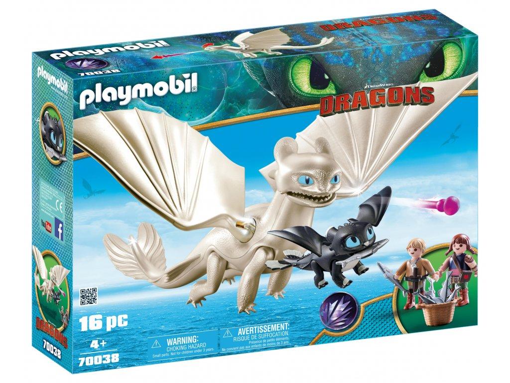 Playmobil Bílá Běska a dráče s dětmi