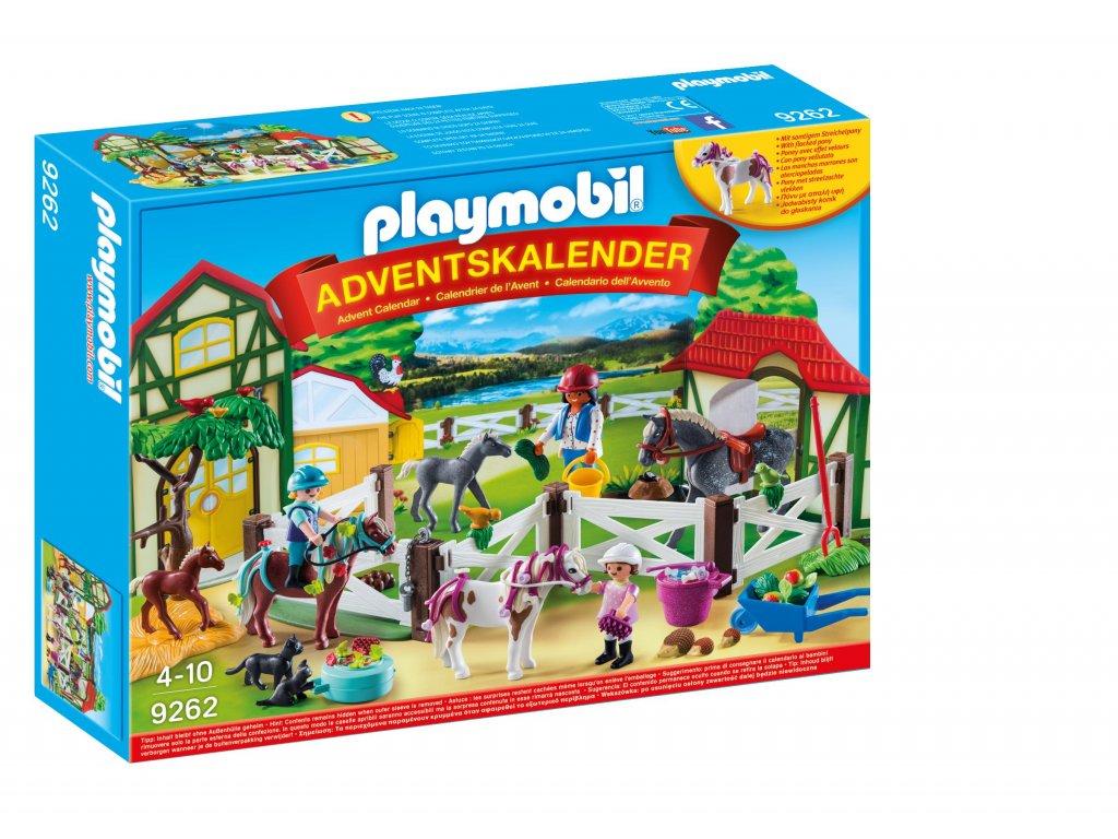 """Adventní kalendář Playmobil """"Koňská farma"""""""