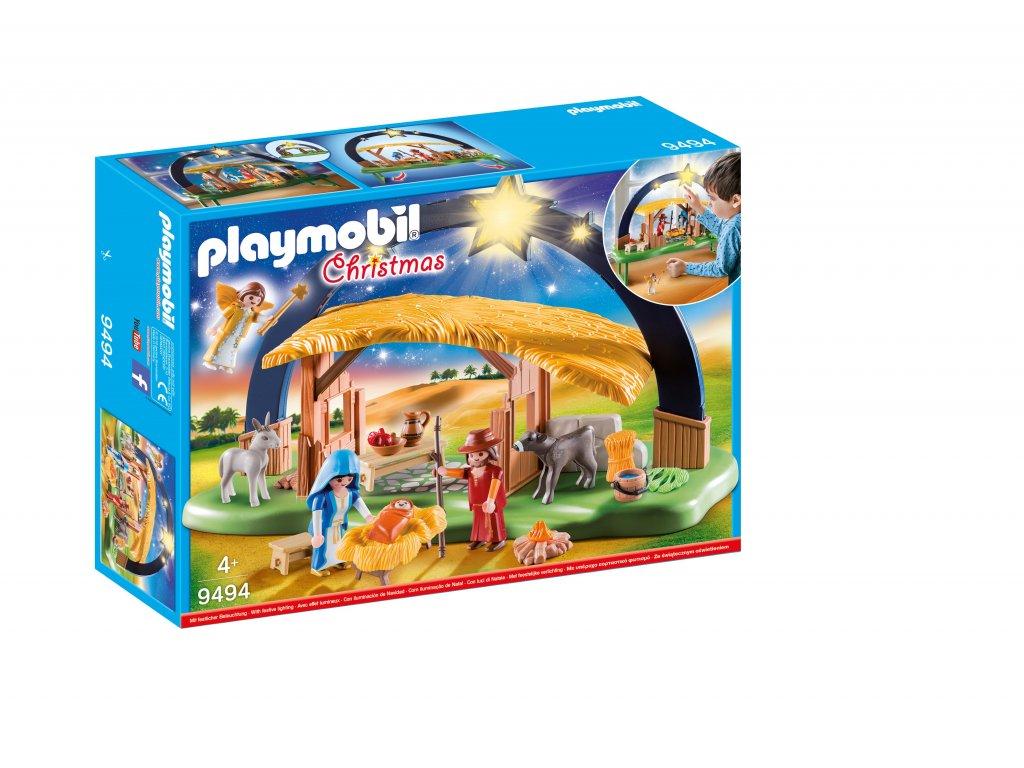 Playmobil Osvětlený Betlém
